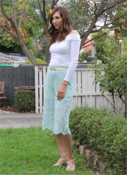 Designer Stitch Fiona Lace culottes