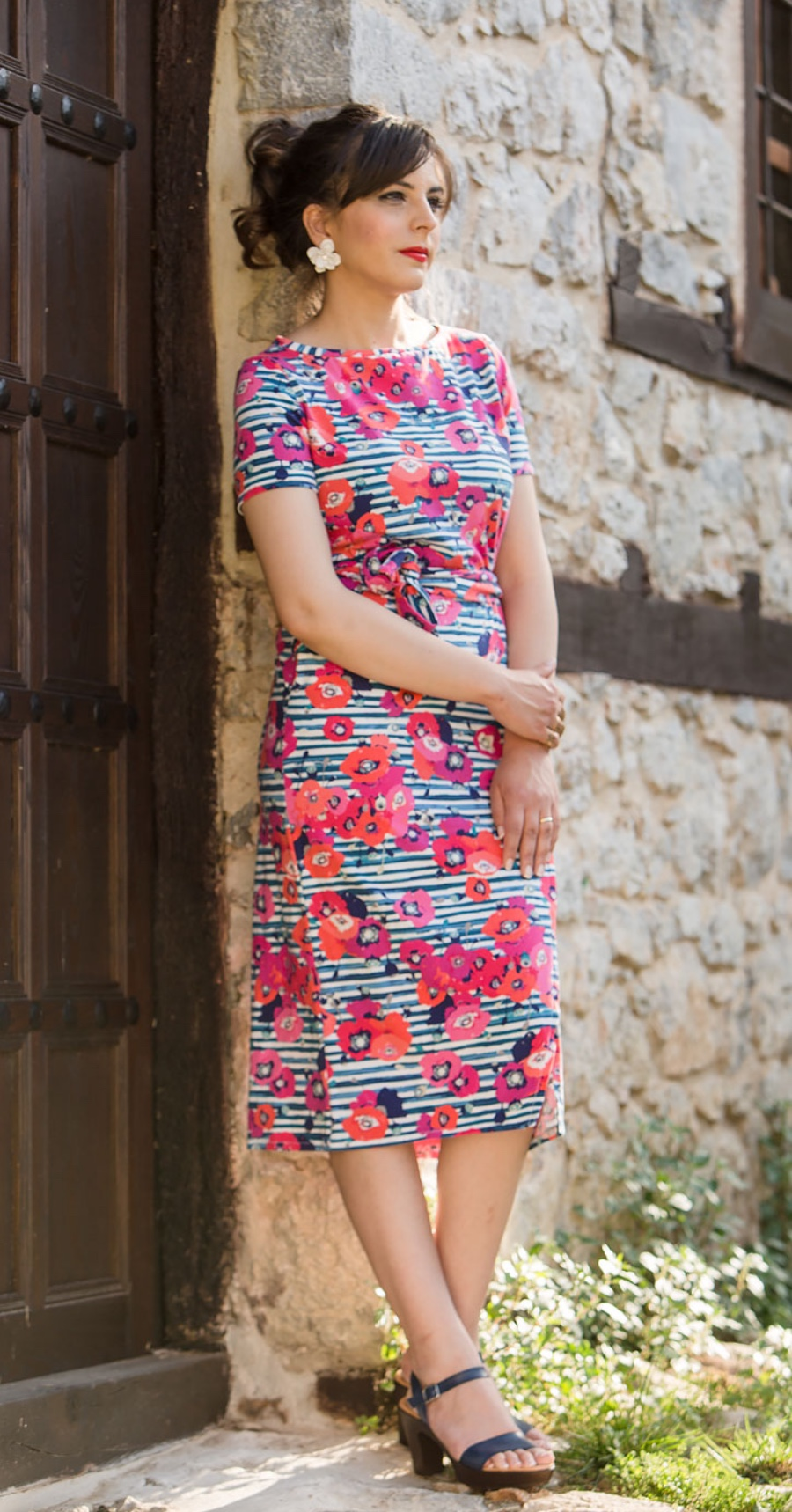 Suzy Dress sewig pattern from Athina Kakou