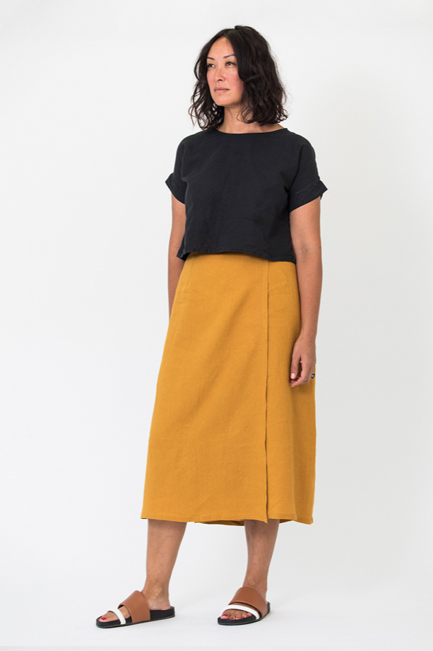 Wrap Skirt by In the Folds for Peppermint mag
