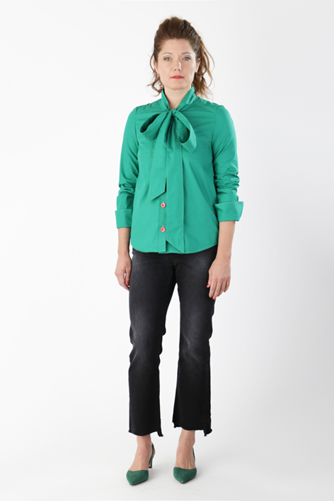 Madeleine Bow Tie Blouse from Named