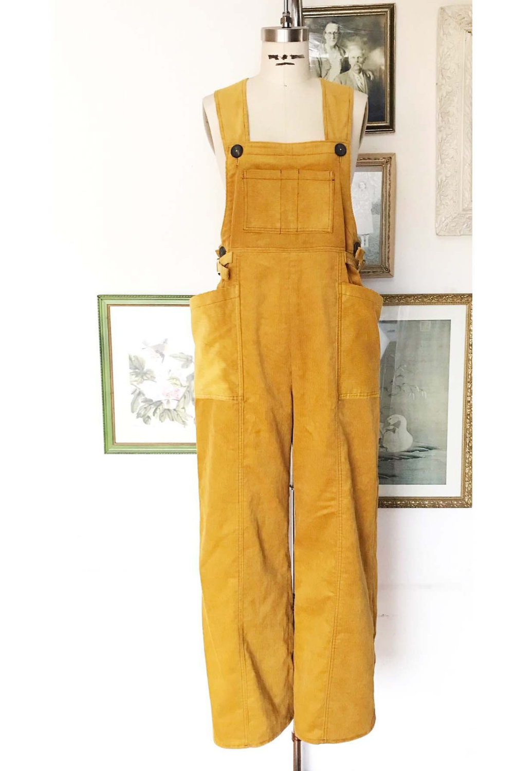 Ophelia Overalls from Decades of Style