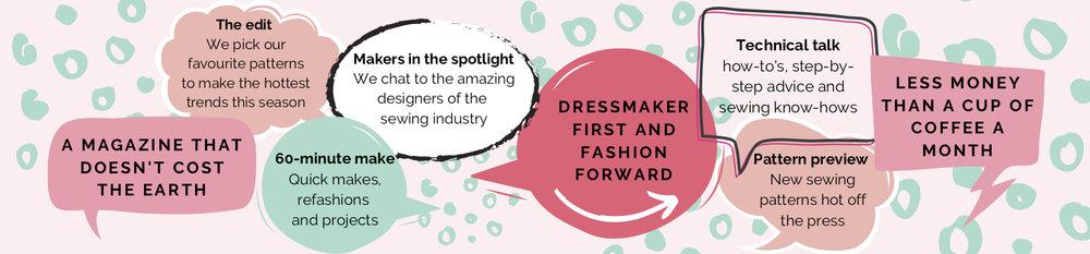 The Pattern Pages Digital Dressmaking Magazine