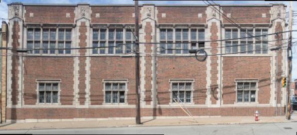 Side (Bingham Street) Facade
