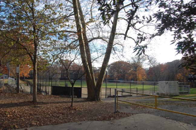 Ball field at S. Braddock Avenue