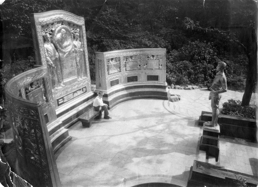 """Untitled Photograph,""  Carnegie Mellon University Architecture Archives' Hornbostel Collection."