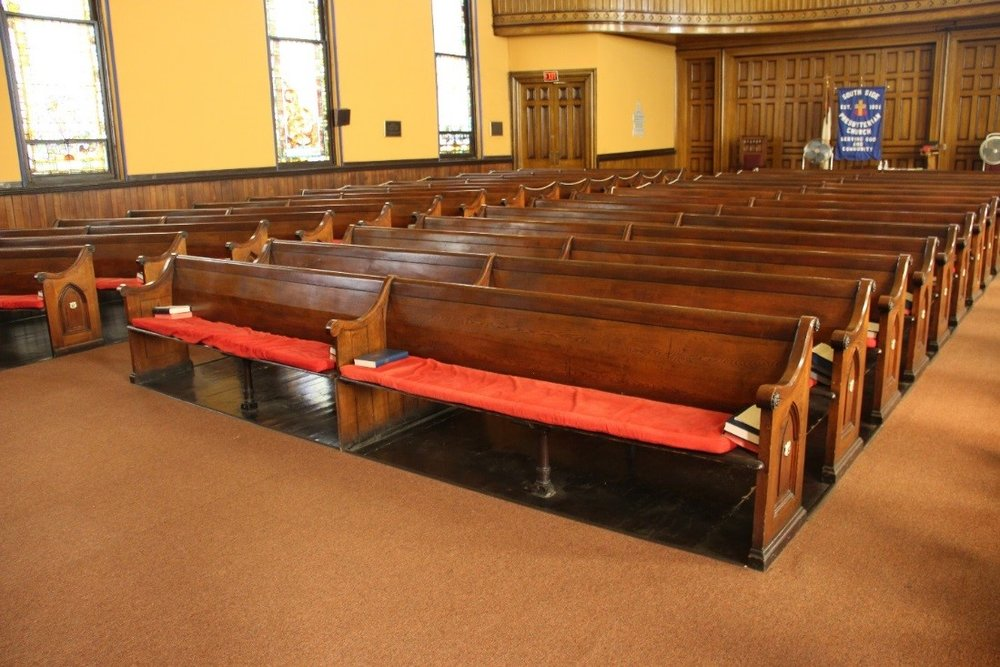 52 View northwest showing detail of pew arrangement.jpg