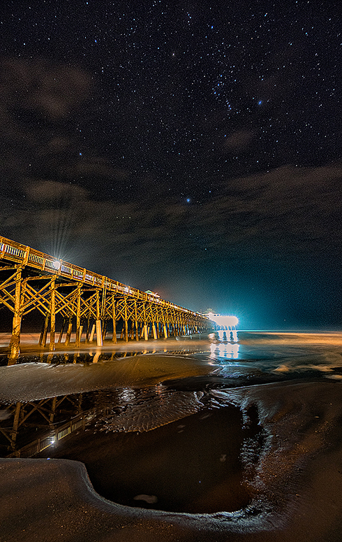 High ISO Folly Pier at Night with Orion.jpg