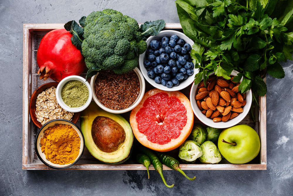 To improve the balance of healthy bacteria in your gut, eat lots of plants.