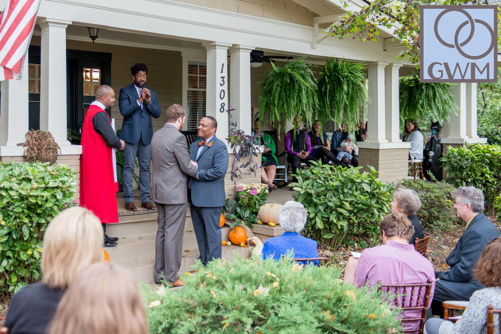 Winston-Salem Brunch Wedding - Gay Weddings & Marriage Magazine | Published: March 2, 2016