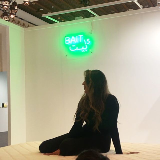 Artist @sarahalagroobi will be performing her piece Me(dusa) once again at the Bait 15 booth in Hall 3 8.30 PM tonight!