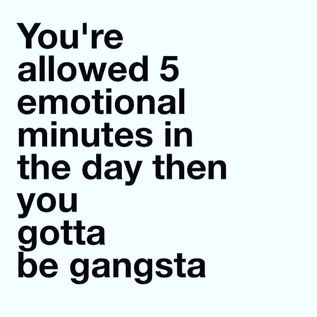 Keep it #gangsta Going in to Monday like WHAT!!#mondaymotivation  #Repost @sirjohnofficial