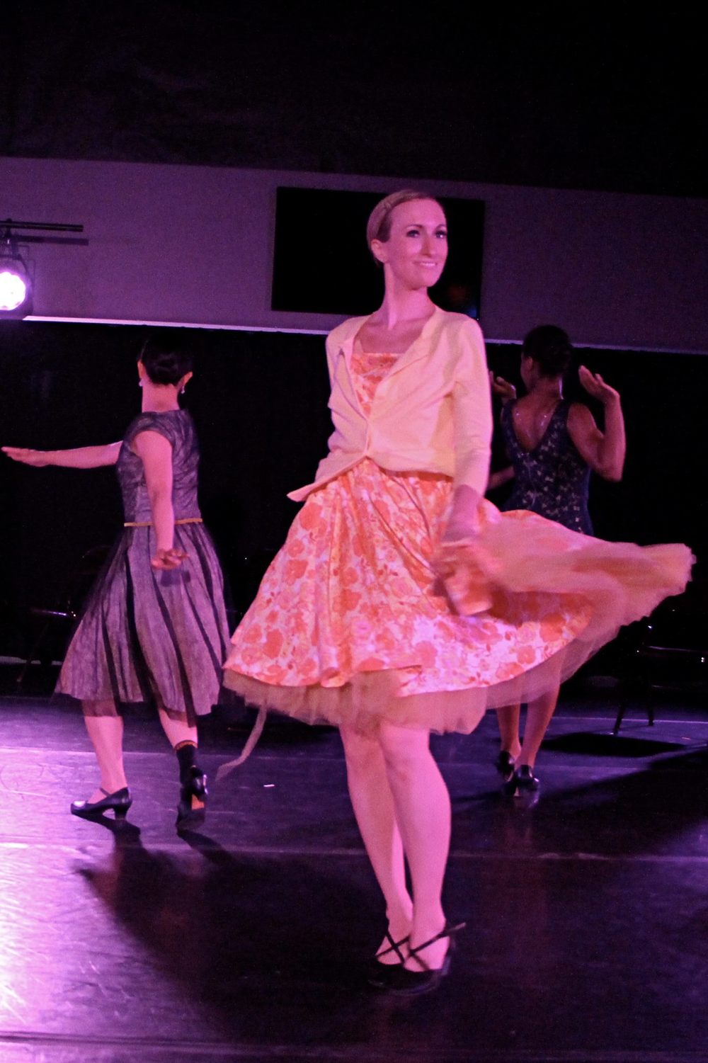 Dancer & City Dance instructor, Kim Taylor in Junebug.