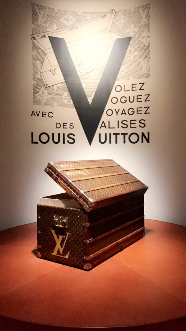 Volez, Voguez, Voyagez - Take a journey through the history of Louis Vuitton and experience the evolution of the brand's trademark designs.