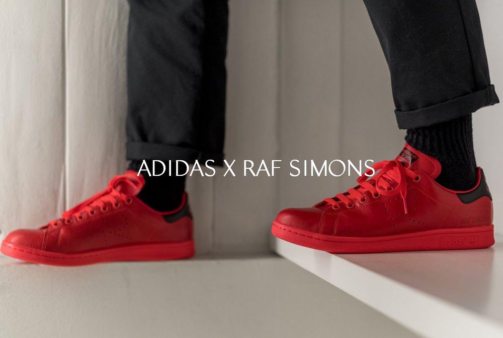 Adidas X Raf Simons