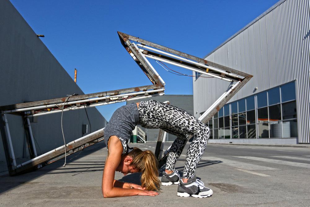 Francesca // Street Yoga 1