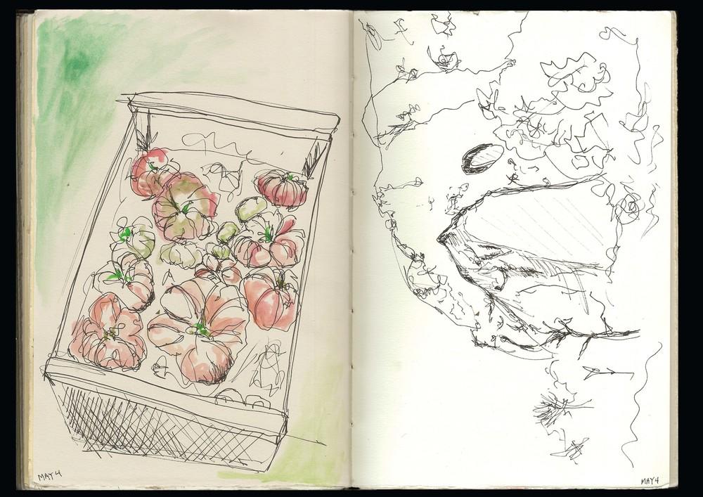 Les Tomates et Foret des Cedres