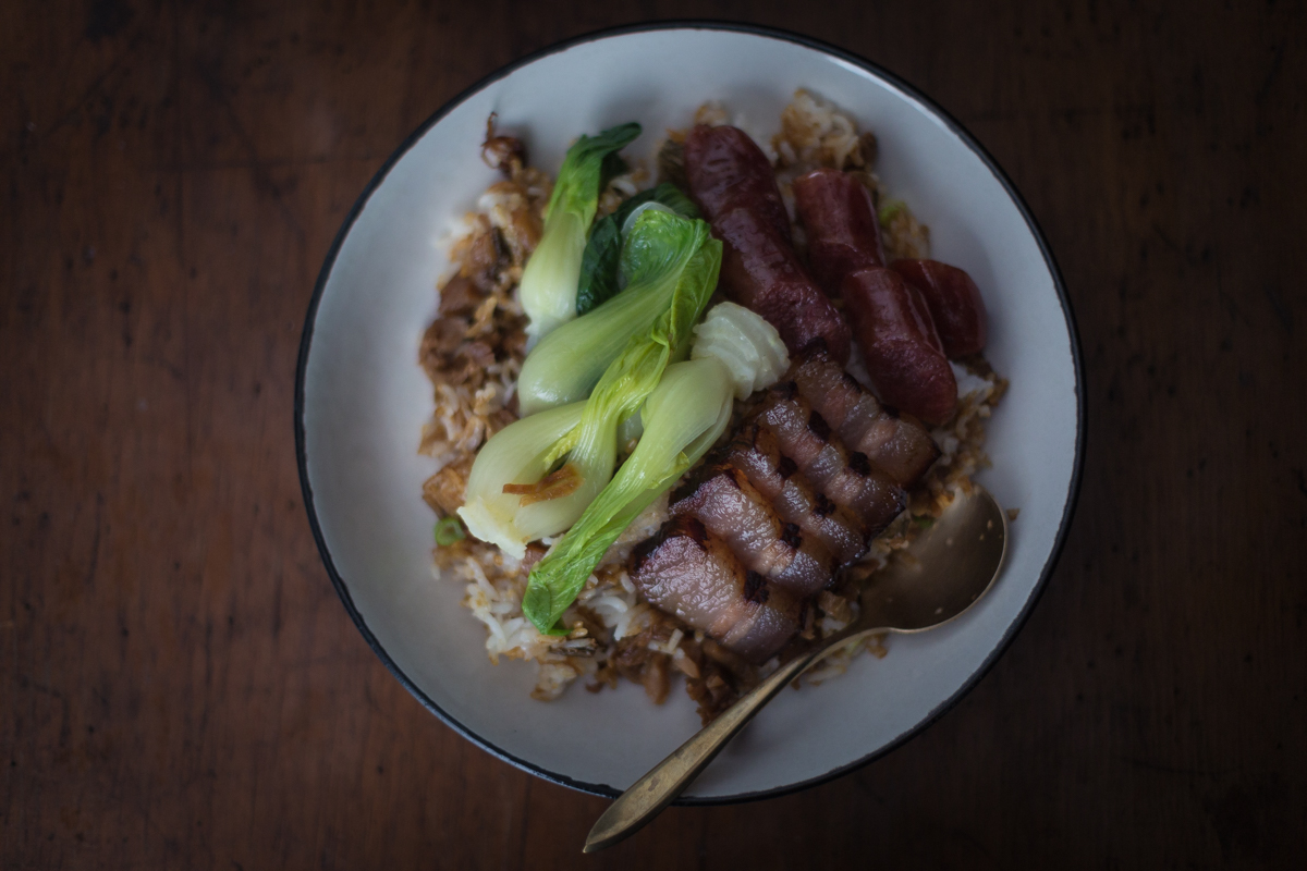 Clay Pot Rice With Chinese Sausages And Cured Pork Belly — Donny Tsang