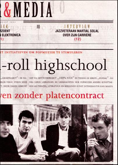 De Standaard_Rock-'n-roll highschool Stache