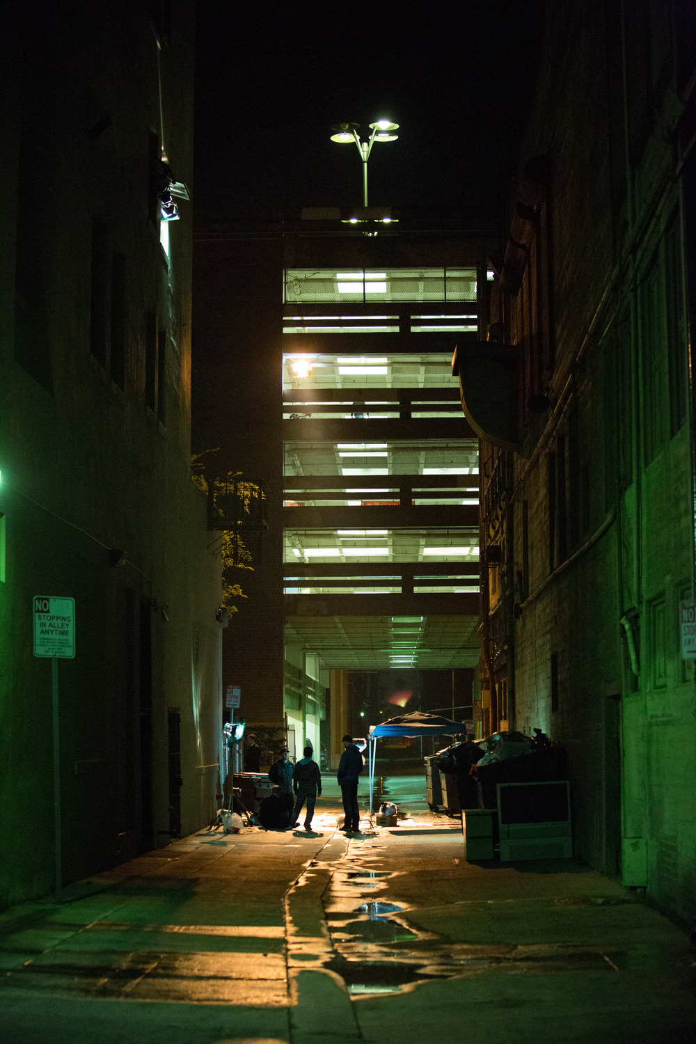 The gorgeous, grimy alleyway in Downtown Fresno.