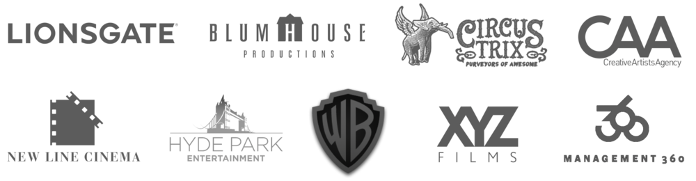 Lionsgate Blumhouse CircusTrix CAA Creative Artists Agency New Line Cinema Hyde Park Entertainment Warner Bros Brothers XYZ Films Management 360.png
