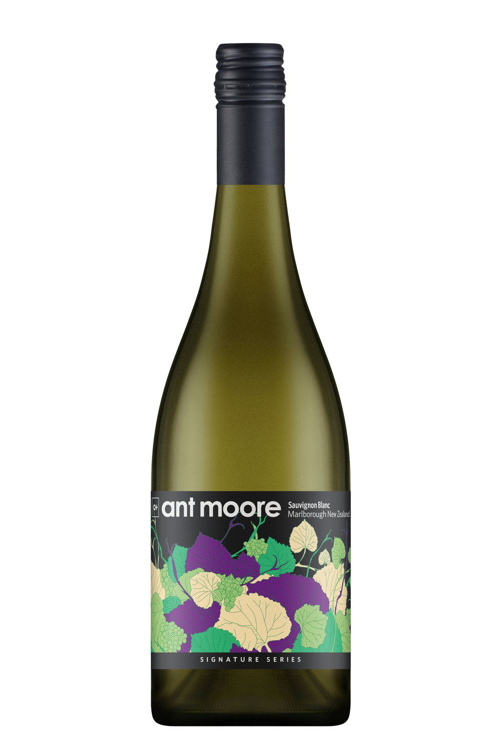 Ant Moore Signature Series Sauvignon Blanc 2018 - A well rounded Sauvignon Blanc, displaying intense lemon flavours with hints of lime. While the nose is subtle, this wine has a great richness, palate length and weight that provides huge flavour intensity on the finish. A drier style, classic Ant Moore style Sauvignon Blanc.