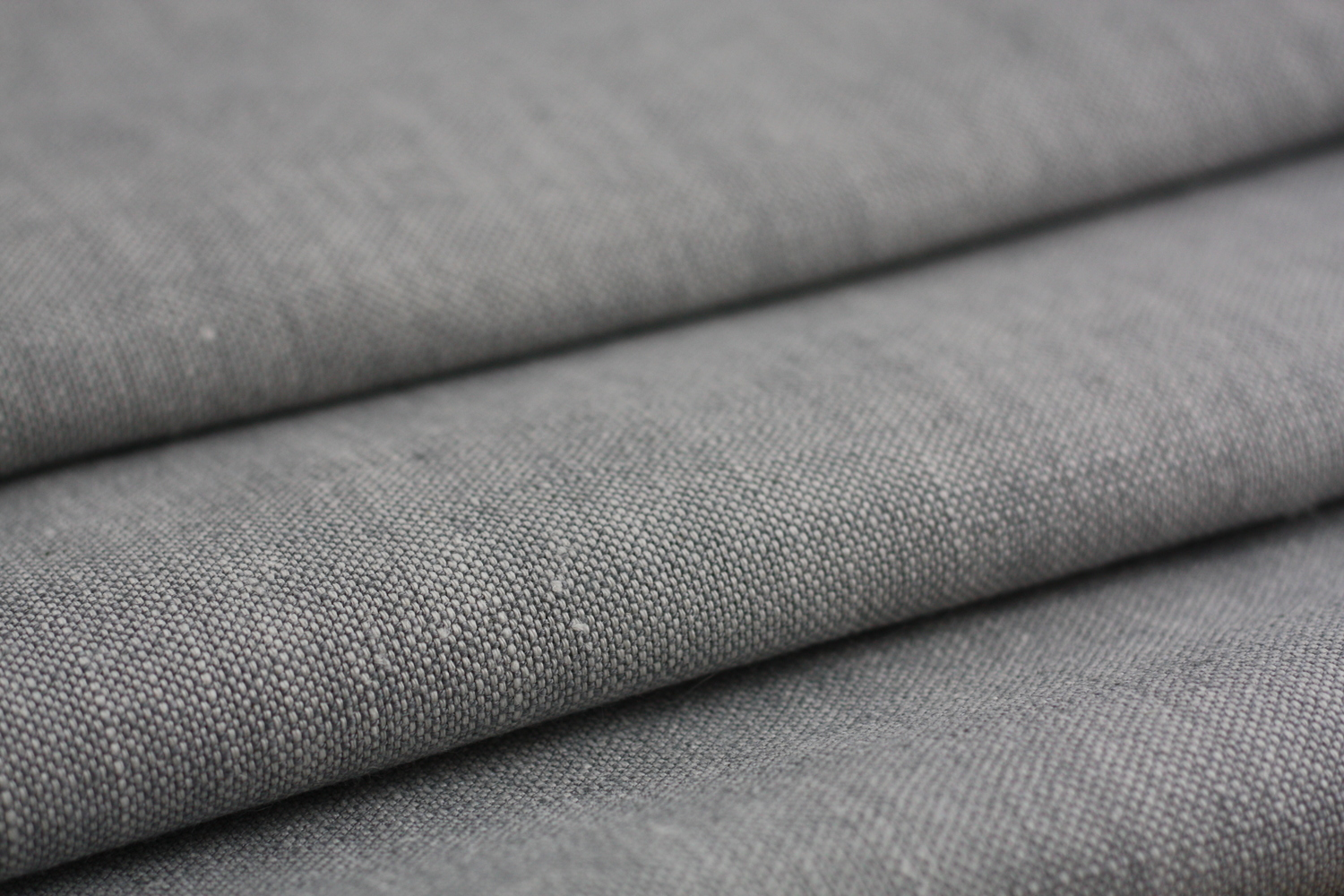 plain grey linen fabric woven two tone zoe glencross