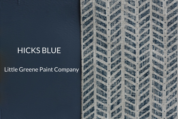 Little Green Paint Company Hicks' Blue