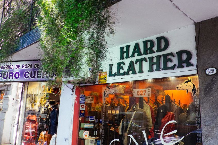 Leather shopping tips in Buenos Aires