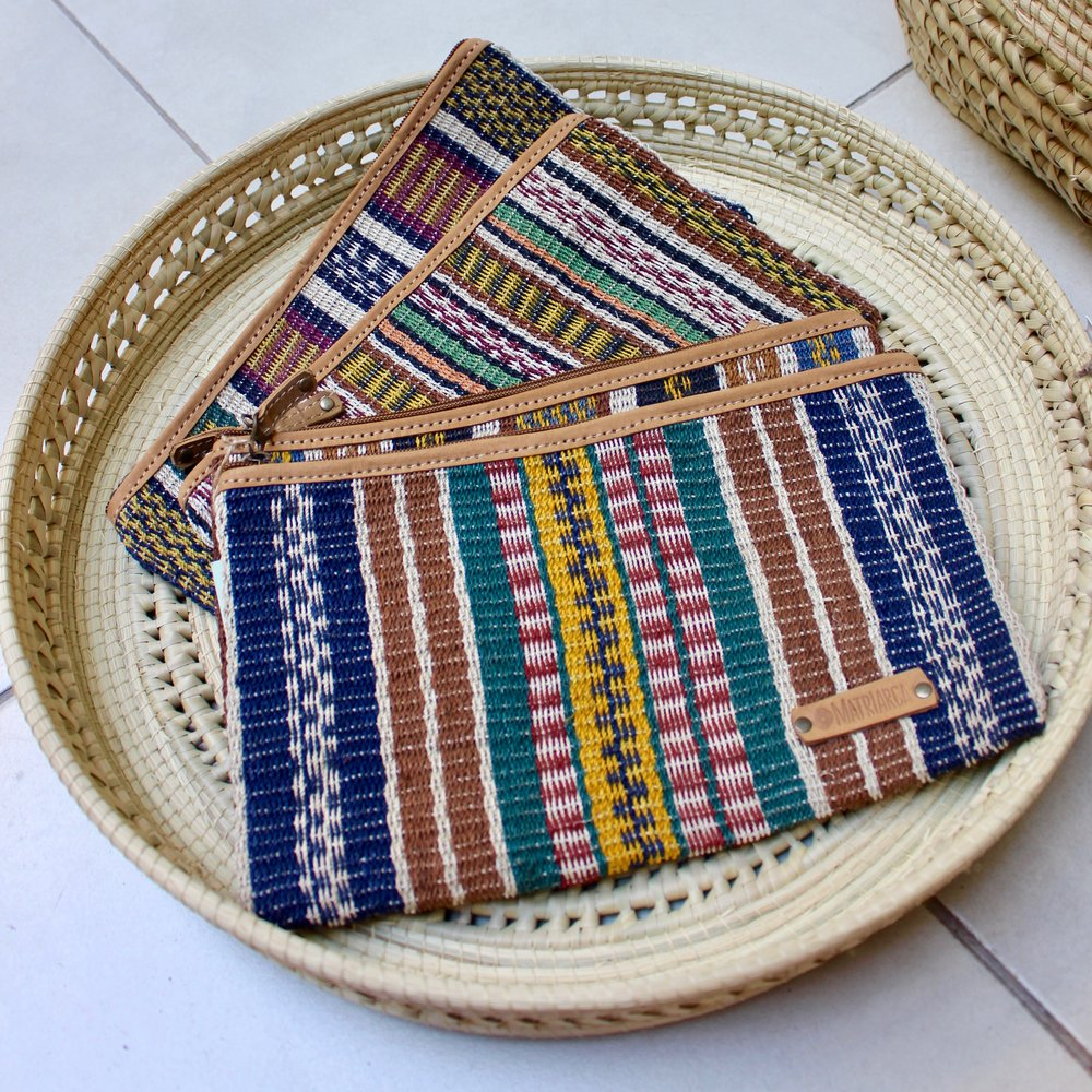Artisanal handwoven bag by Indigenous Argentinian women