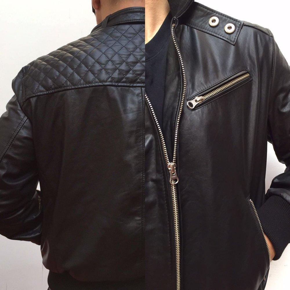 Custom made Argentinian leather jacket