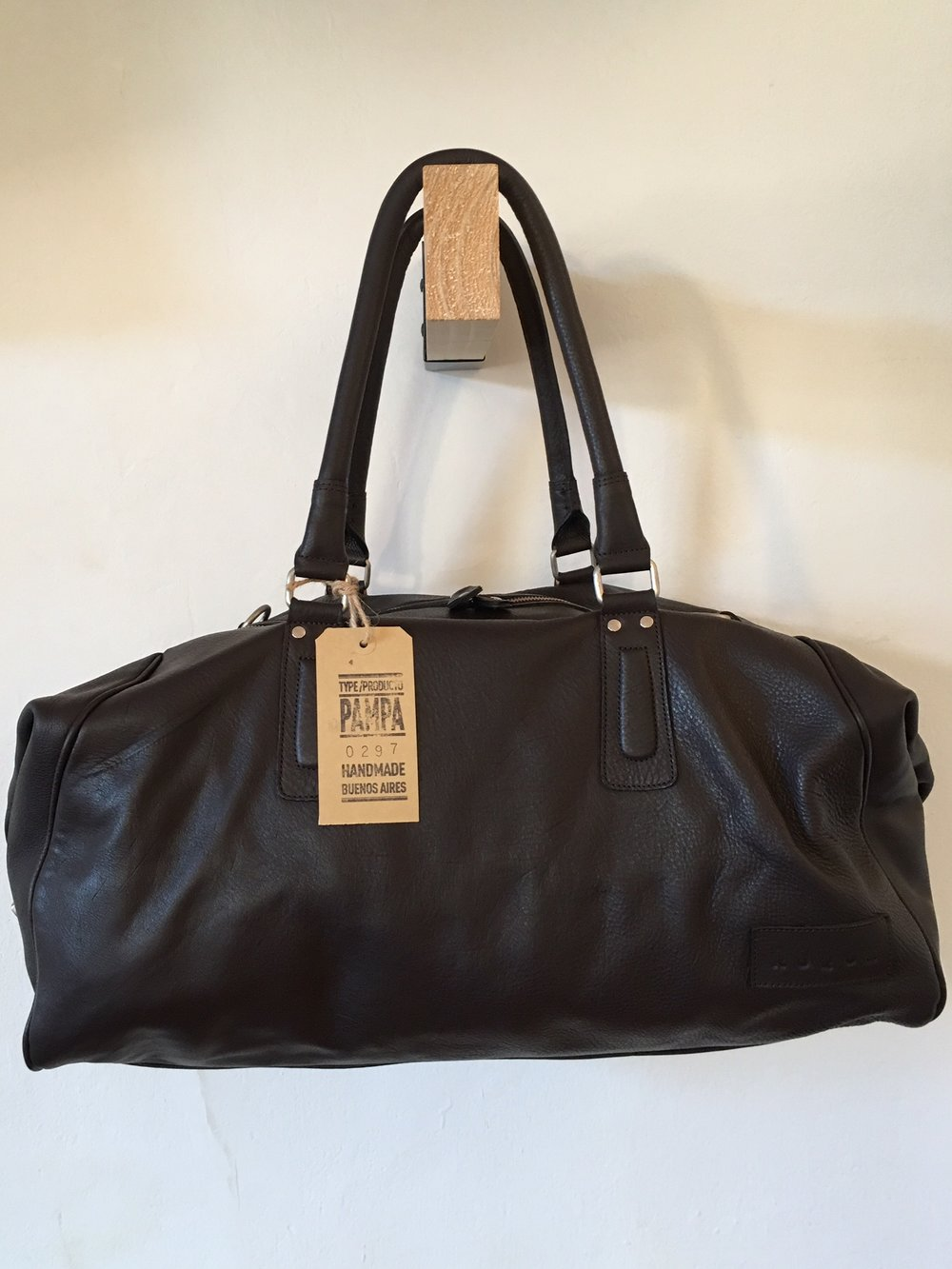Leather weekend Bag Buenos Aires