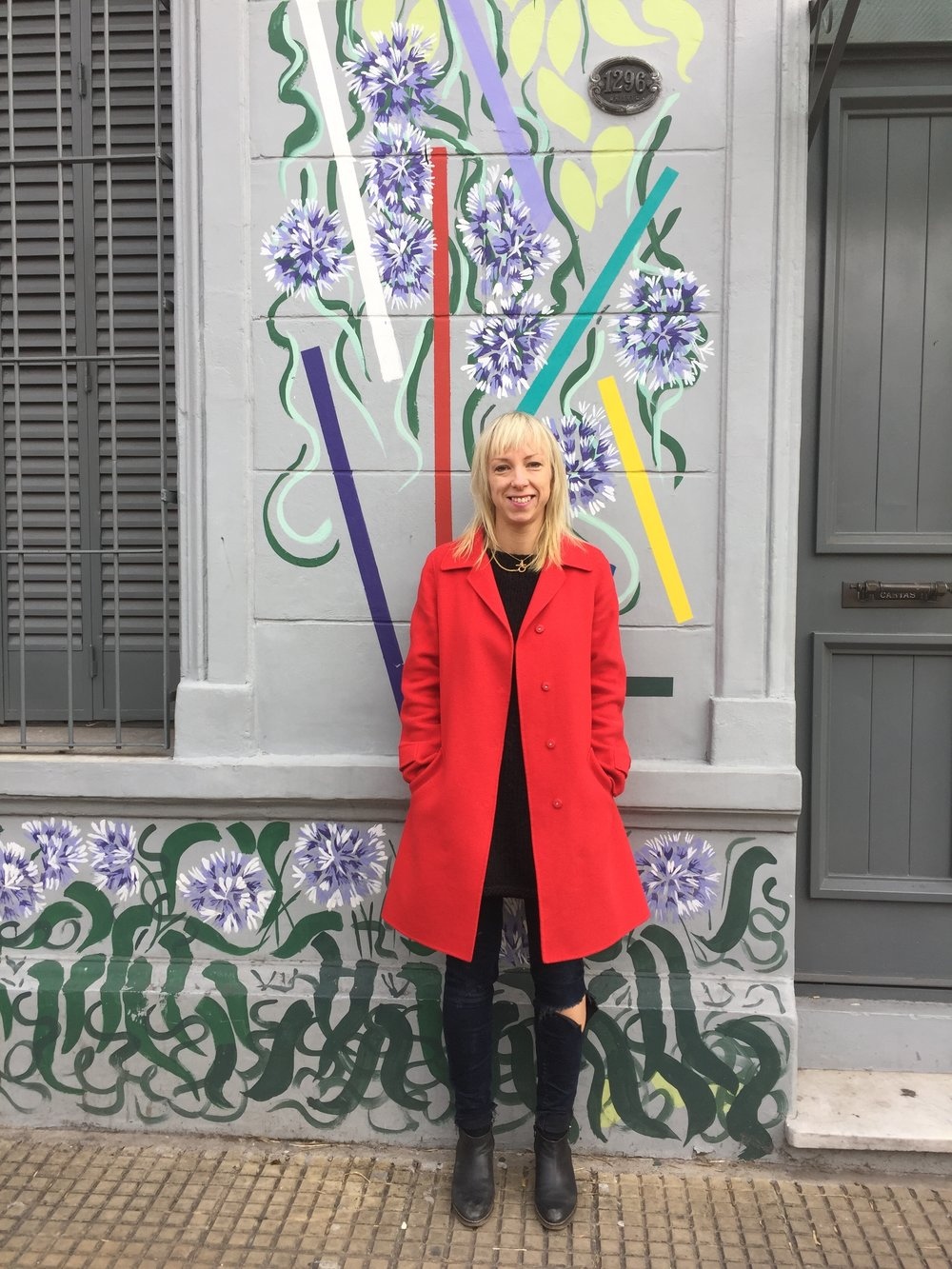 Personal Shopper Sophie Lloyd in Buenos Aires