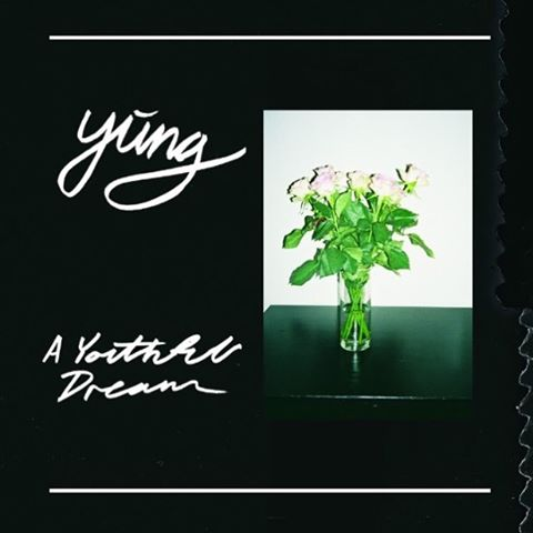 """Danish punk quartet @yung_band released their new album, """"A Youthful Dream."""" Read Conner's review on the blog!  #hearandnowmedia #yung #albumreview"""