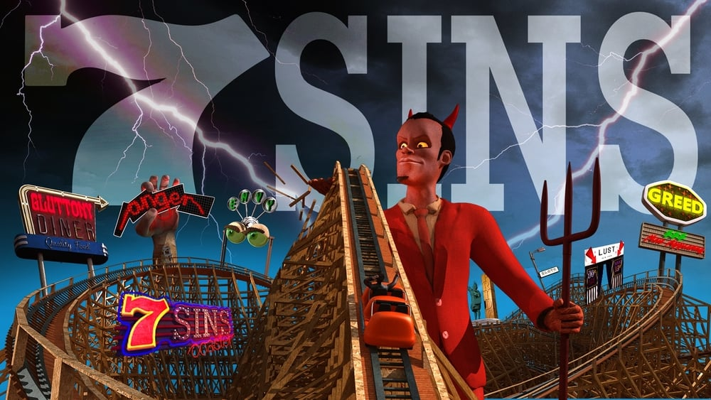 7 Sins Virtual Reality Roller Coaster Experience - An Evil Ride!   By HoneyVR