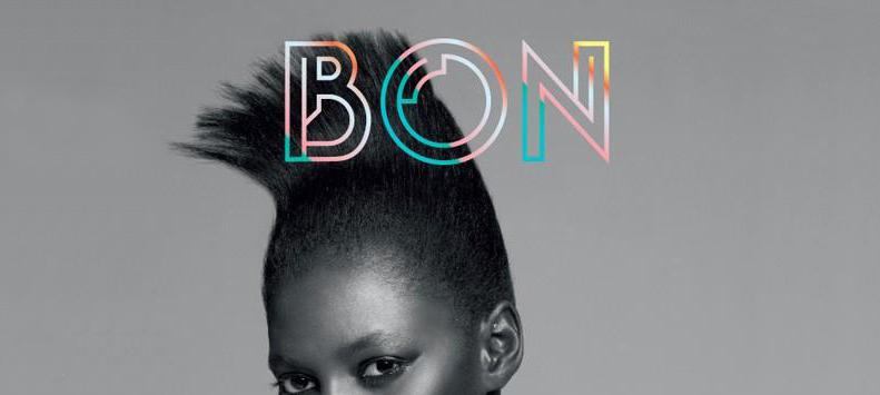 Bon magazine masthead