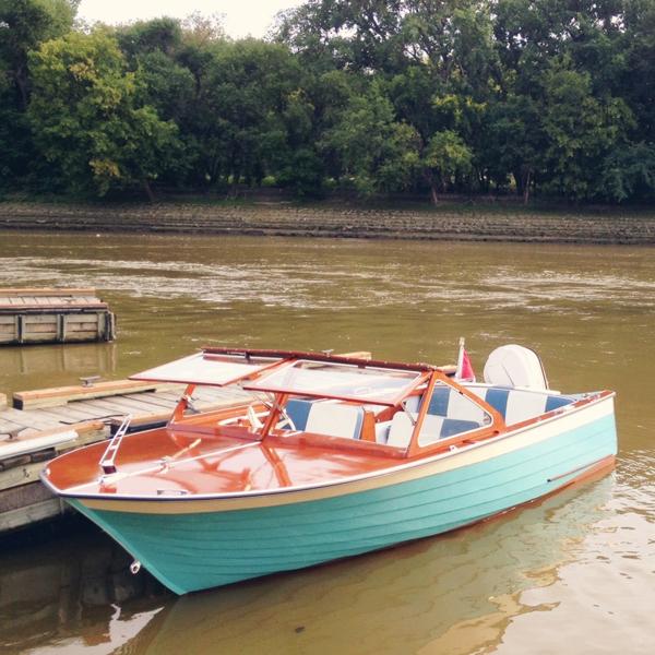1957 boat