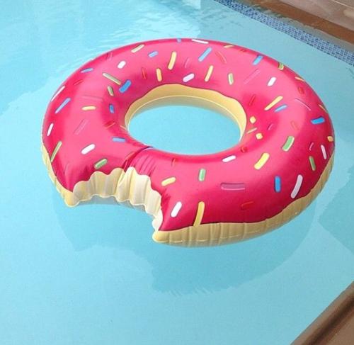 Donut floatie.