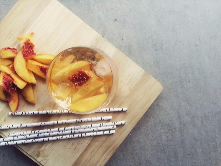 Citrus Peach Sangria