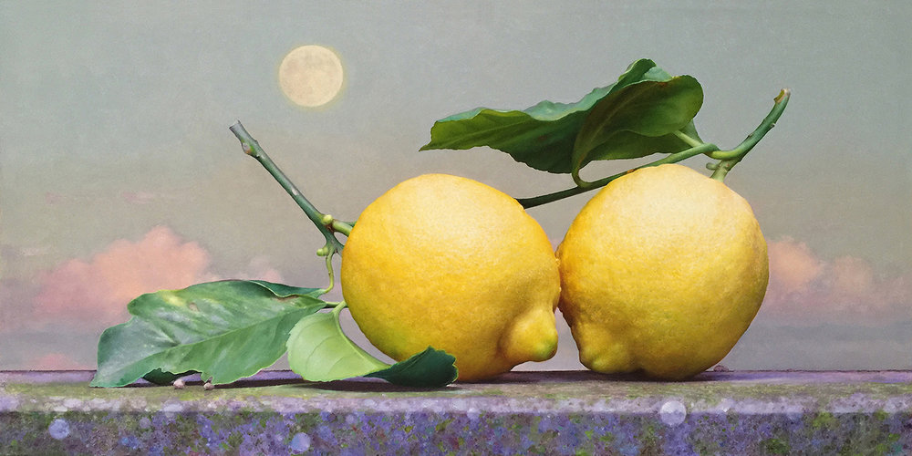 LEMONS ON A SILL