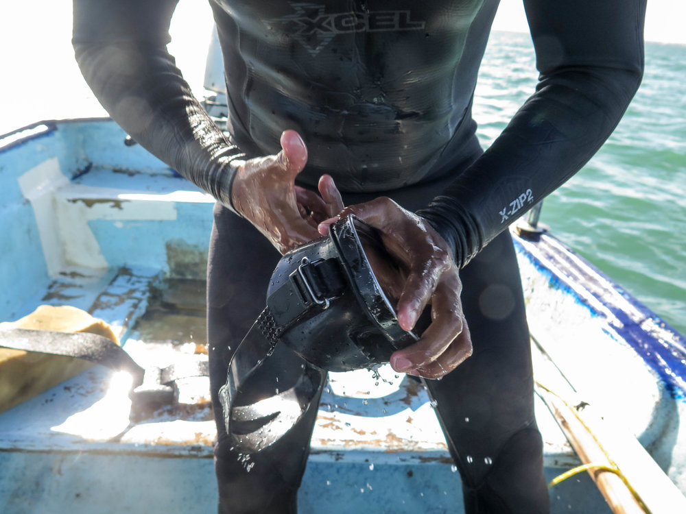 Wetsuit Donation - Donate your wetsuit to support artisanal fishermen