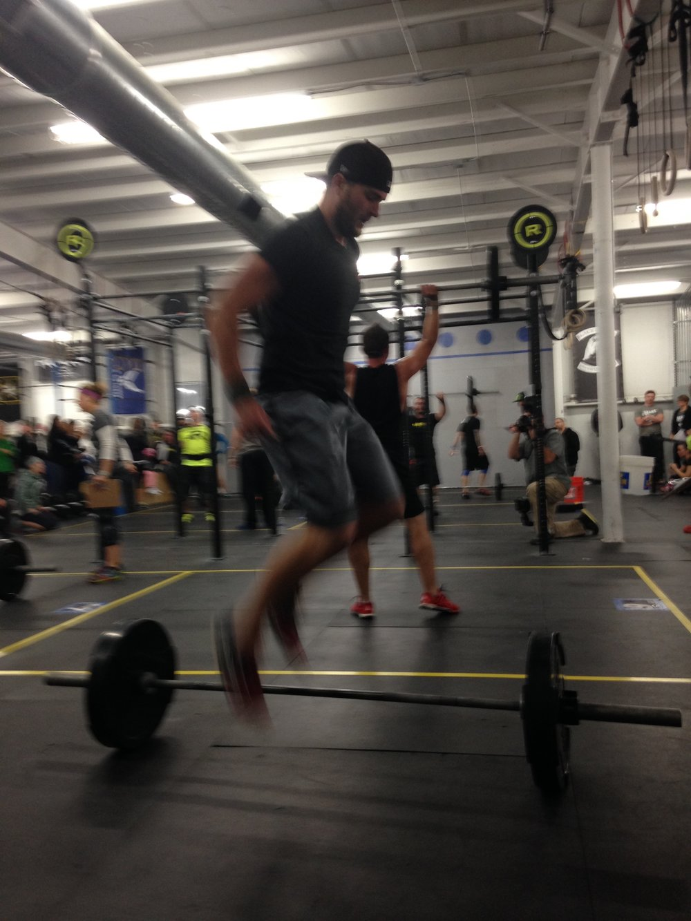 From my first and only Crossfit competition.