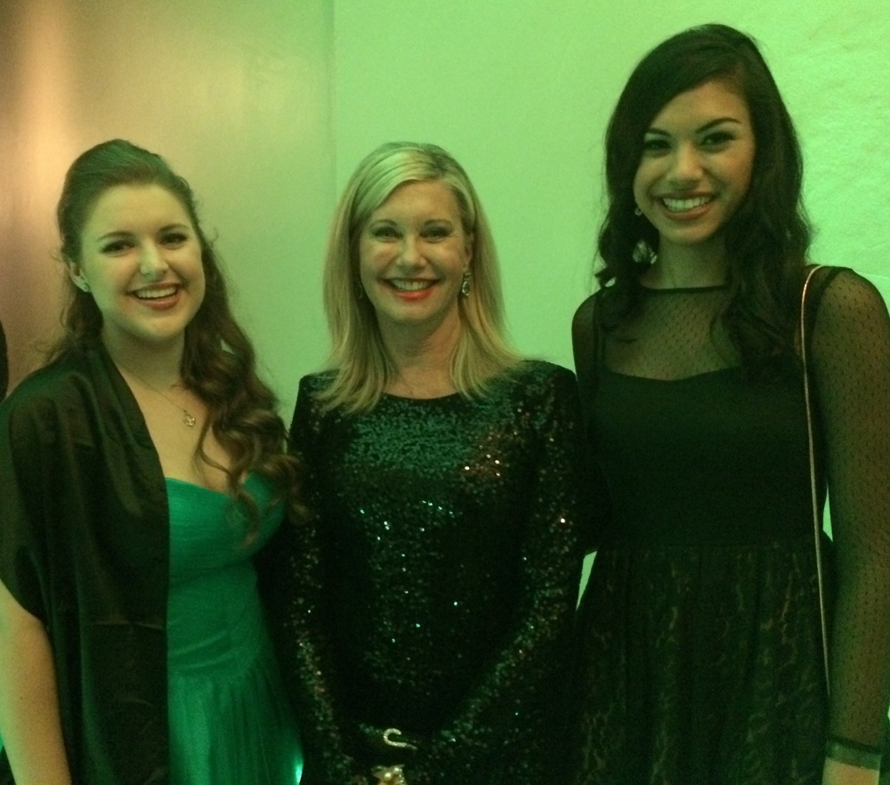 Malia, Olivia Newton-John and Karina - Dream Foundation.jpeg