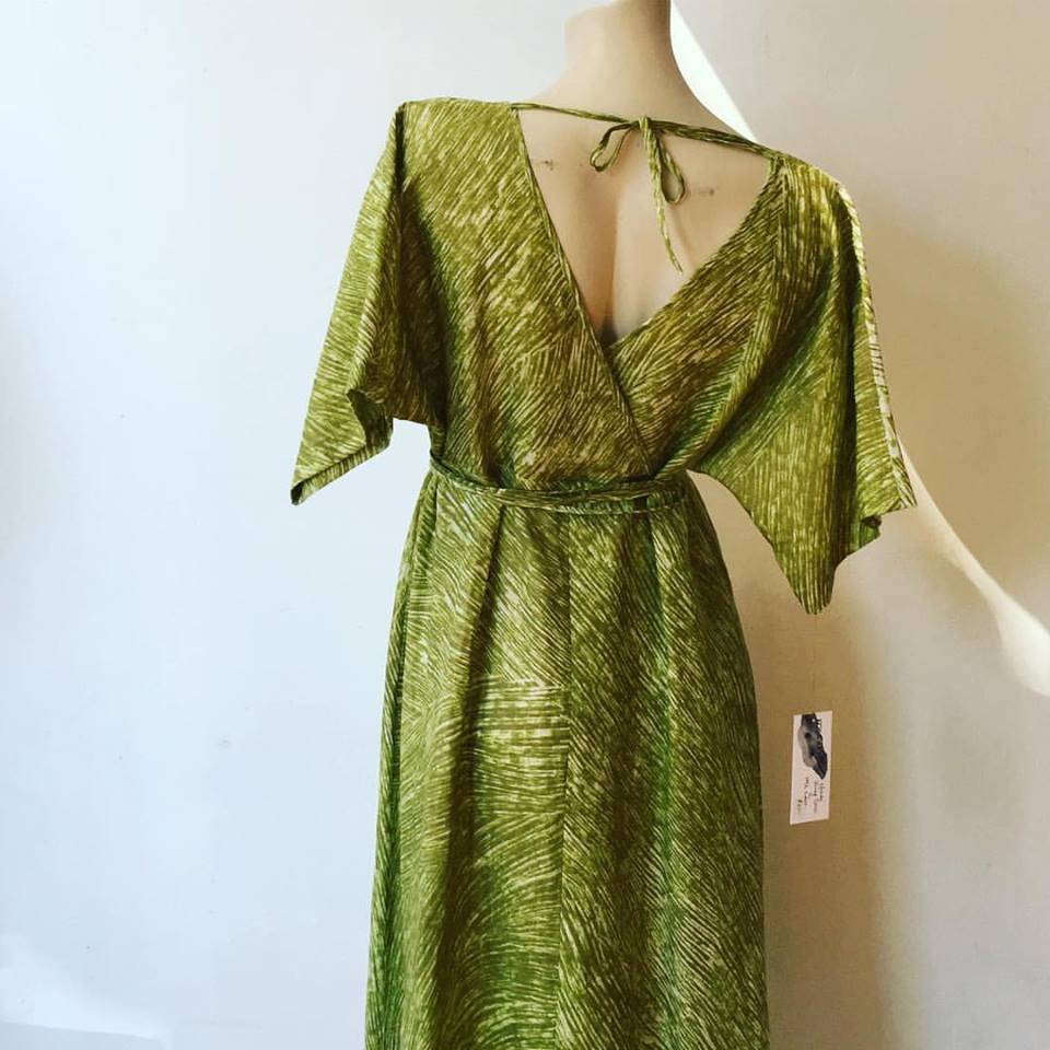 Musubi Wrap Dress