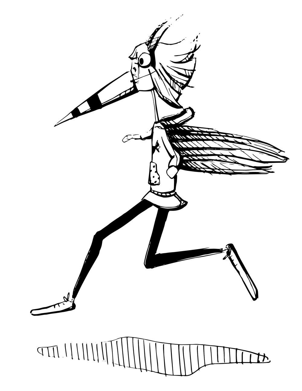 Flying Bird Costume