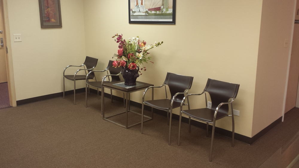 Waiting Area - Oakbrook Terrace Office