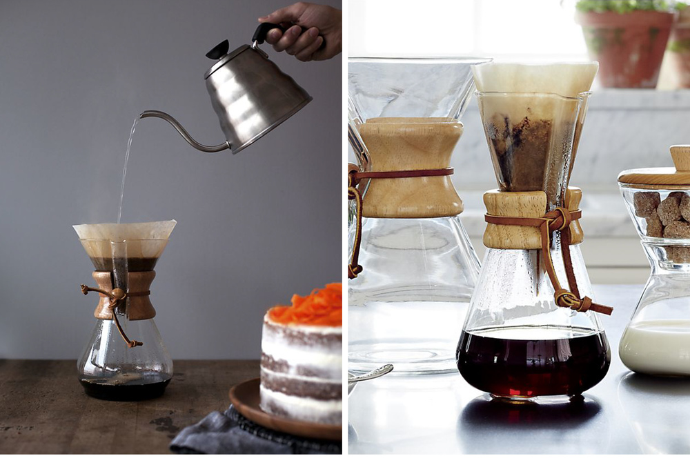 8-Cup Coffee Maker | Chemex | $44