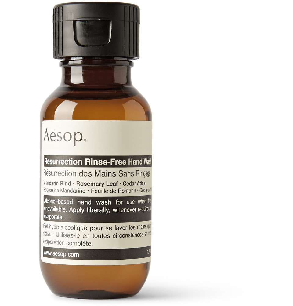 AESOP Resurrection Rinse Free Hand Wash, 50ml - $10