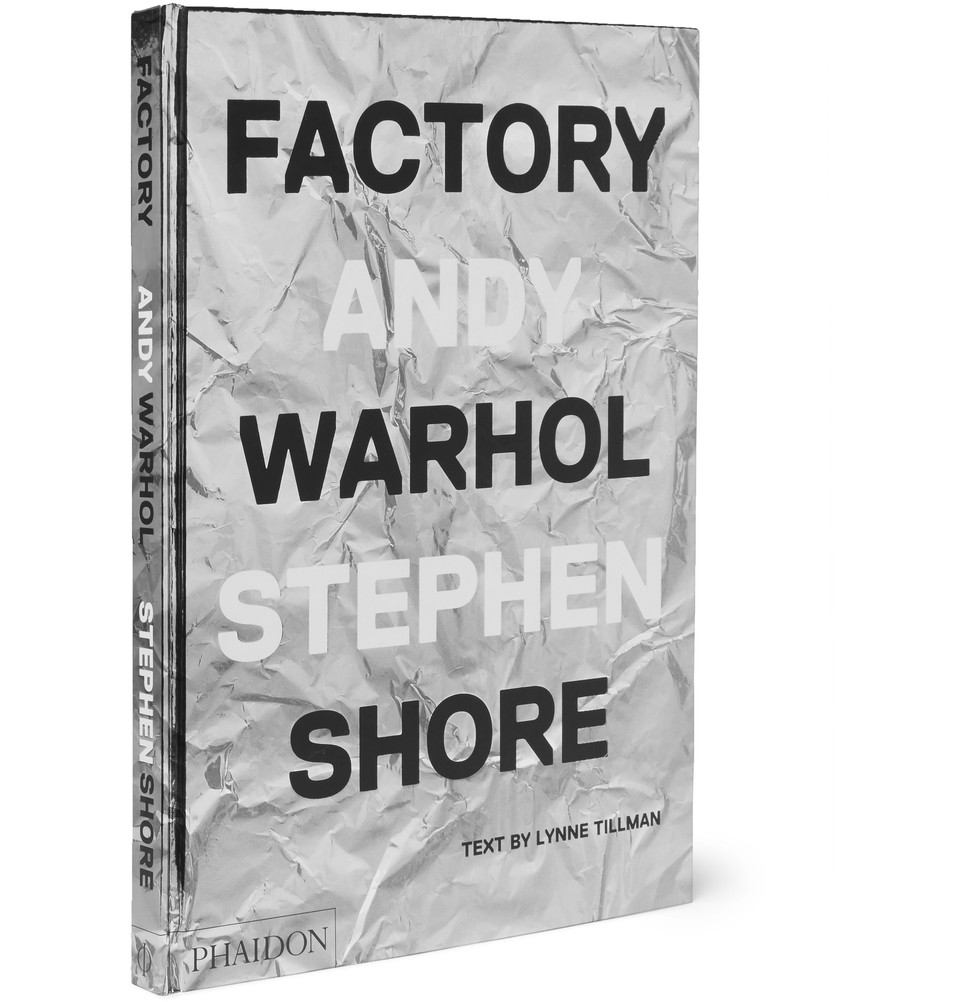PHAIDON Factory: Andy Warhol Stephen Shore Hardcover Book - $60
