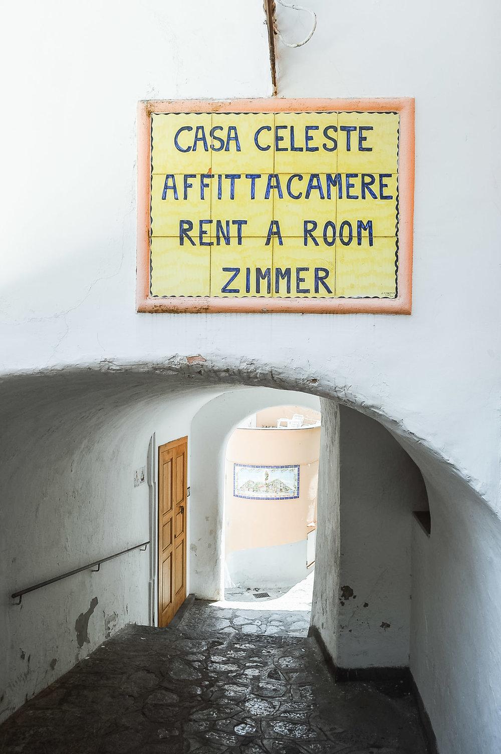 casa celeste positano amalfi coast italy