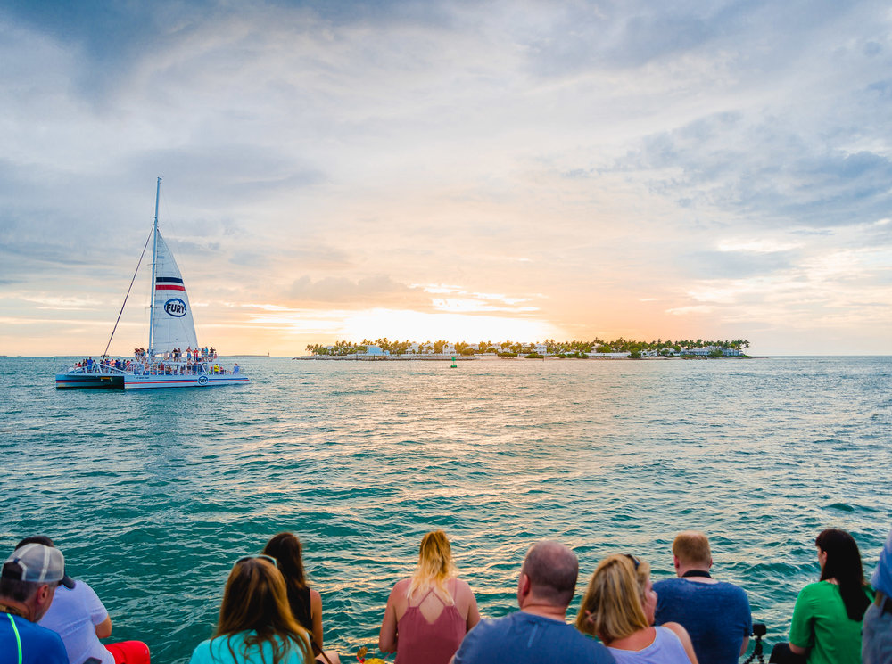 24 north hotel key west mallory square sunset